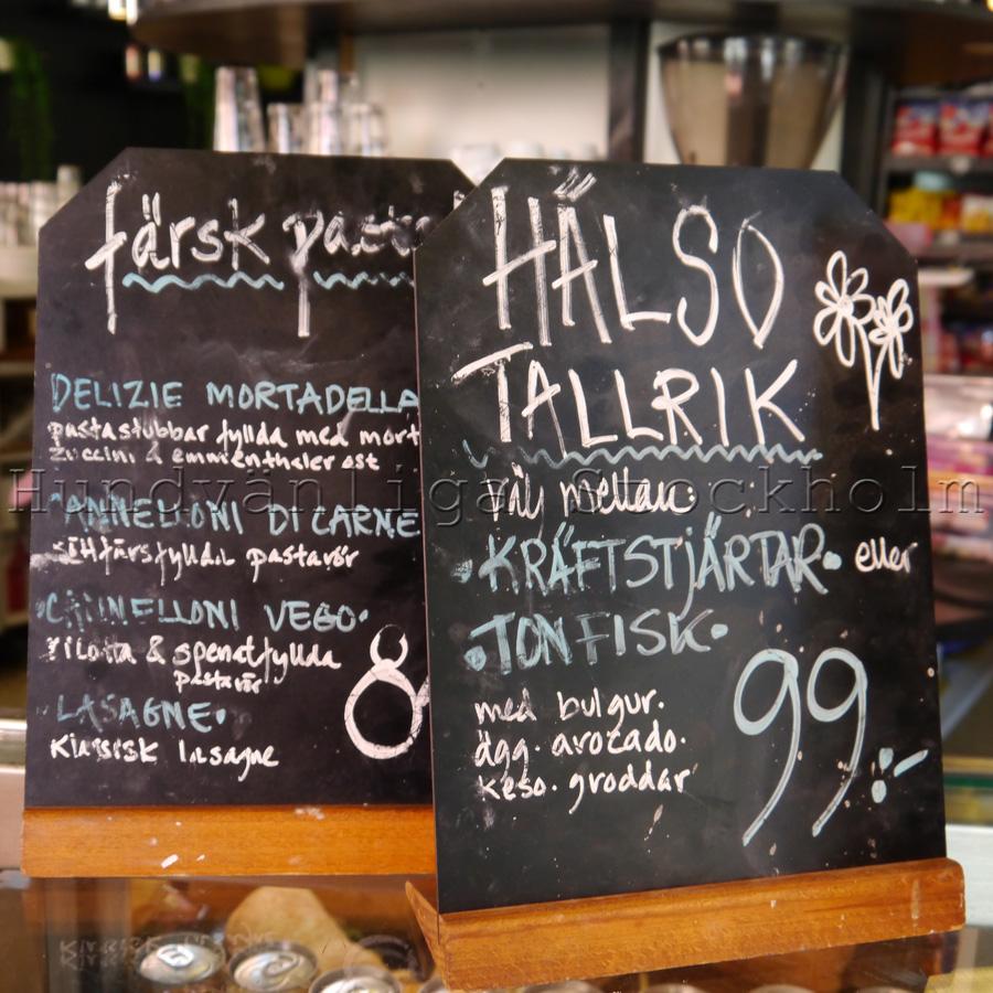 Café Brasco hälso tallrik