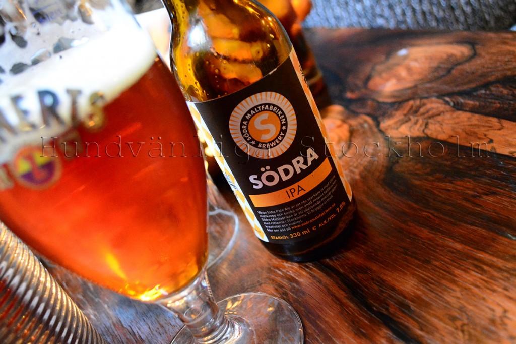 Lokal öl på Rost Café