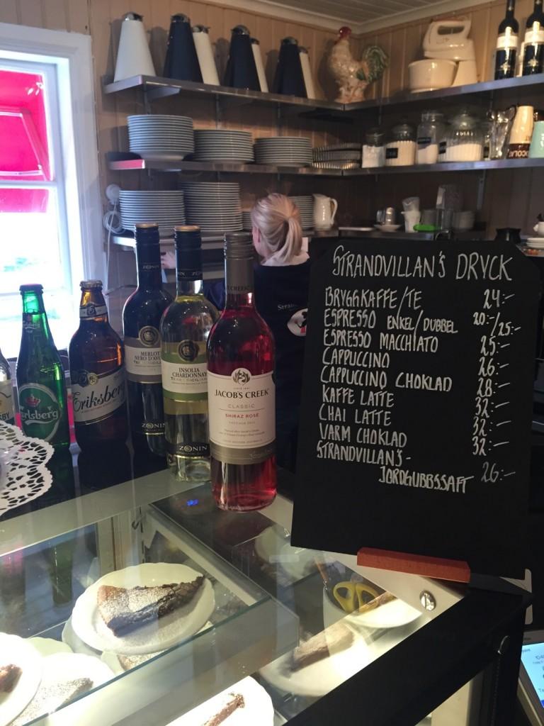 Foto från Strandvillans Cafe