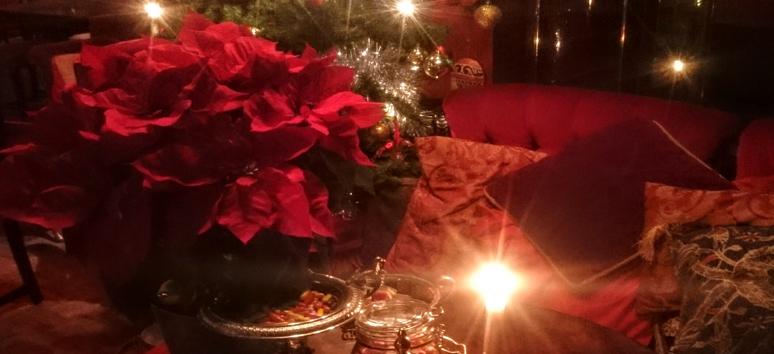 jul-bord-med-hund-kaj